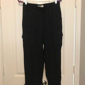 Black American Rag jogger pants
